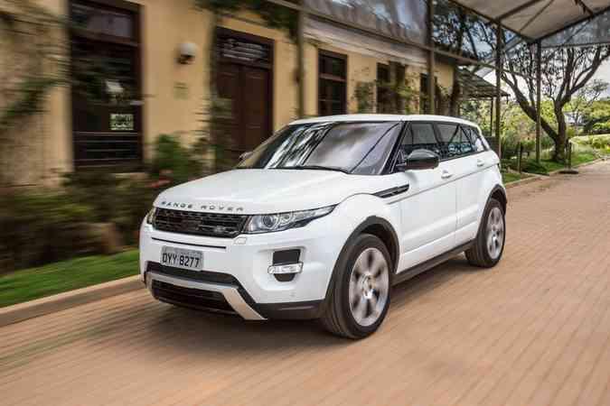 Range Rover Evoque (foto: Jaguar Rand Rover / Divulgação )