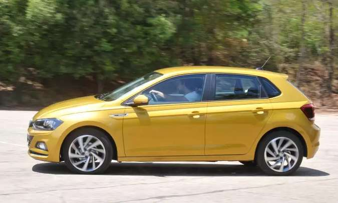 Com provável influência do lançamento do Nivus, Volkswagen Polo teve queda de 42% nos emplacamentos(foto: Jair Amaral/EM/D.A Press)
