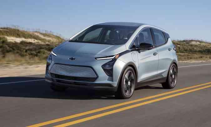 Novo Chevrolet Bolt EV(foto: Chevrolet/Divulgação)
