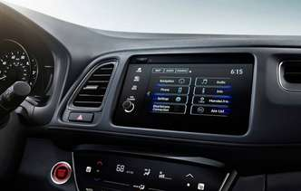 Central multimídia possui conectividade com Apple CarPlay e Android Auto. Foto: Honda / Divulgação