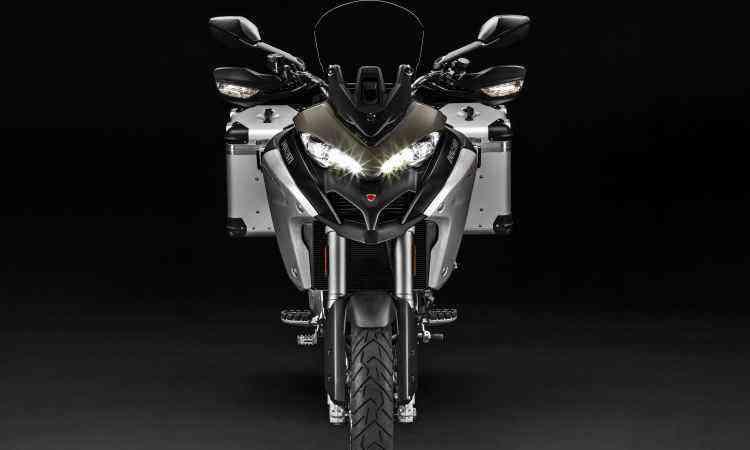 A iluminação conta com LEDs e proporciona interessante aspecto ao modelo - Ducati/Divulgação