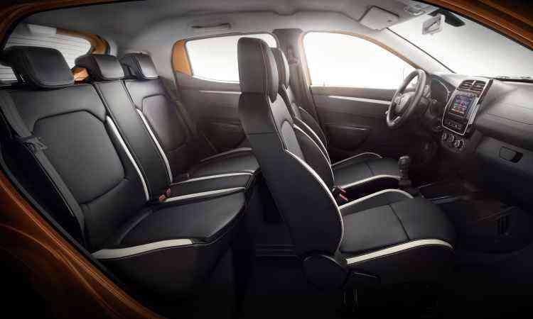 As dimensões são boas para um compacto, com medidas semelhantes às do Volkswagen up! - Renault/Divulgação