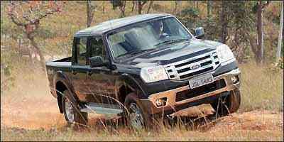 Ranger pula para o primeiro lugar depois de acrescentados equipamentos essenciais - Reginaldo Manente/Ford/Divulgação - 23/7/09