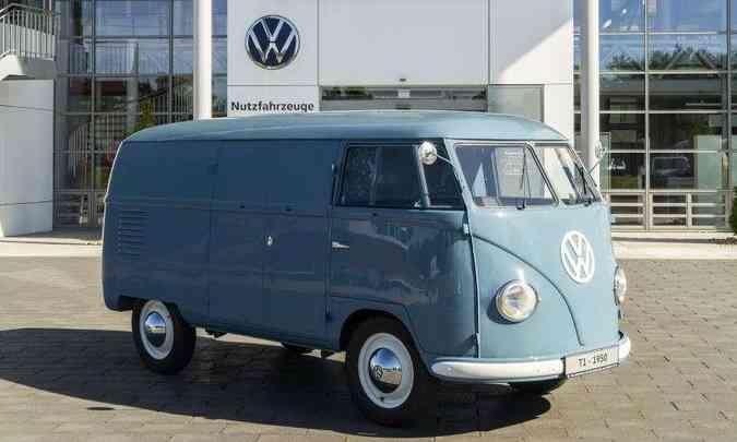 Kombi 1950(foto: Volkswagen/Divulgação)