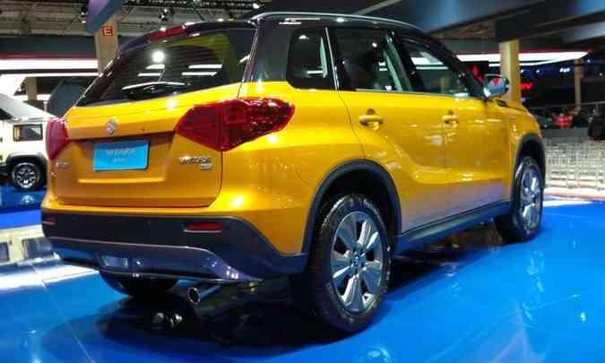 O novo Suzuki Vitara tem opções de motores 1.4 turbo e 1.6 aspirado(foto: Pedro Cerqueira/EM/D.A Press)
