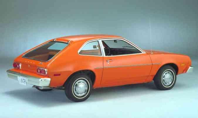 Projeto do Ford Pinto trazia uma falha que comprometia a segurança, com risco de incêndio no caso de uma colisão traseira(foto: Ford/Divulgação)