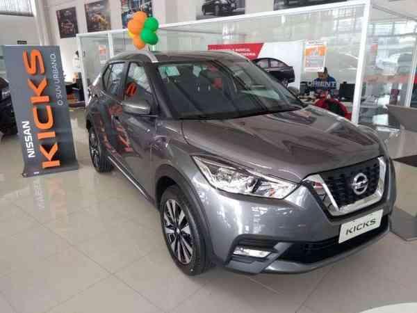 Nissan Kicks Sv 1.6 16v Flexstar 5p Aut. 2020 R$ 85.900,00 MG VRUM