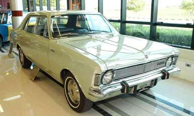 Modelo foi apresentado no Salão do Automóvel de 1968(foto: ABC Imagem/Divulgação)
