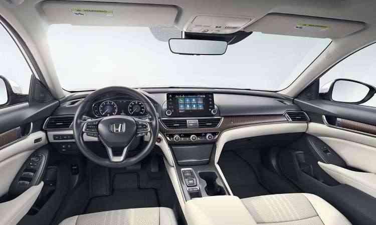 Interior pode ser nas cores marfim, cinza e preto - Honda/Divulgação