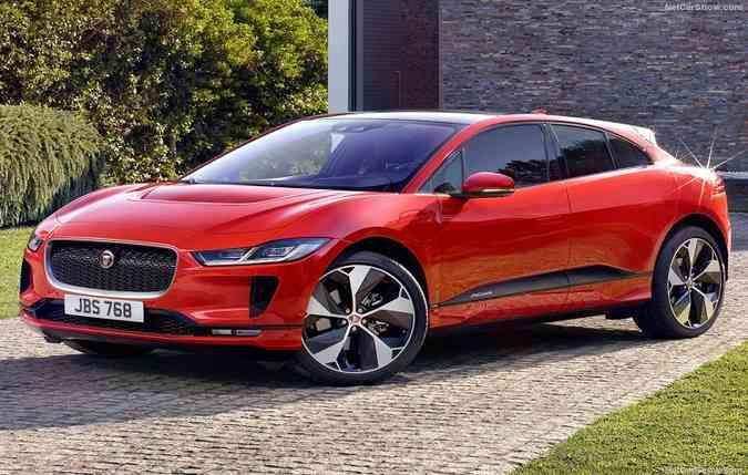 Com autonomia de 470 quilômetros, o modelo atinge até 200 km/h. Foto: Jaguar/ Divulgação