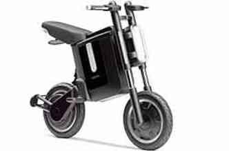 Yamaha Bobby pode ser dobrado, para facilitar transporte e guarda(foto: Fotos: Yamaha/Divulgação)