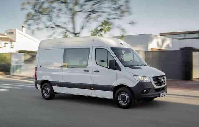 Modelo que será fabricado na Argentina é semelhante ao comercializado na Europa. Foto: Mercedes-Benz / Divulgação