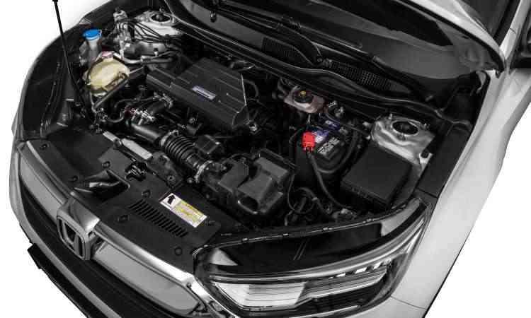 O motor é mesmo 1.5 turbo a gasolina usado pelo Civic, com 190cv de potência e 24,5kgfm de torque - Honda/Divulgação