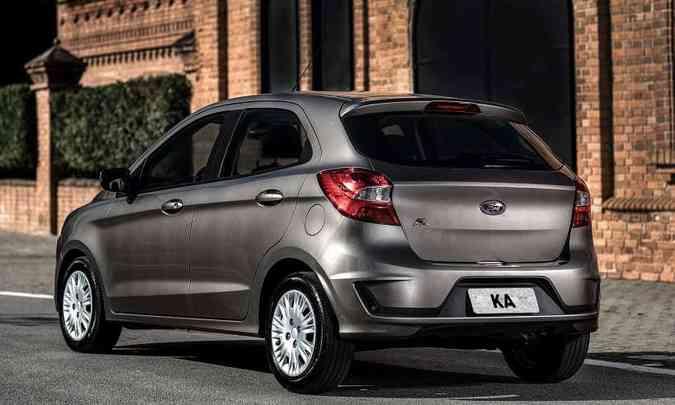 O compacto da Ford foi renovado, mas tirou nota zero no teste de impacto do Latin NCAP(foto: Ford/Divulgação)