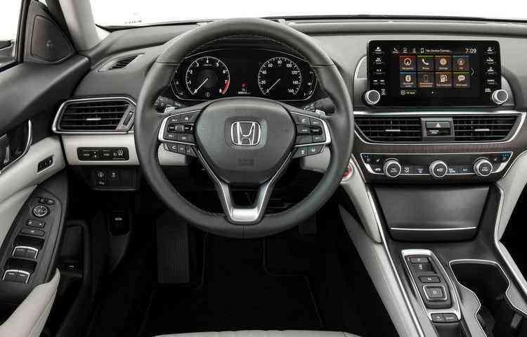 Versão híbrida conta com motor 2.0 a gasolina e dois motores elétricos - Honda/Divulgação