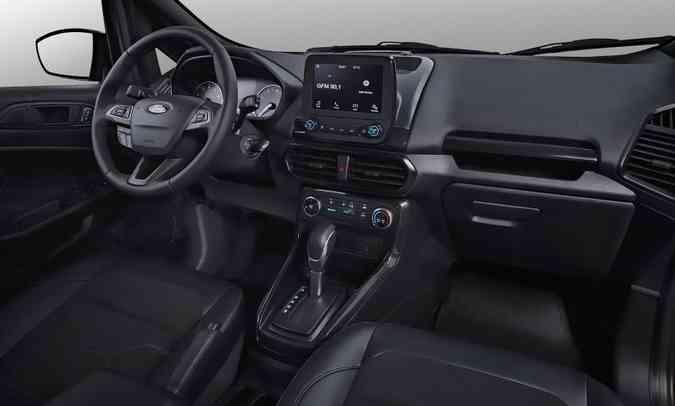 Principal vantagem do Ford Ka 100 Anos é o sistema multimídia(foto: Ford/Divulgação)