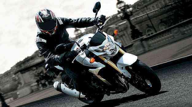 O sistema de freios ABS é de série na GSR 750 - Suzuki/Divulgação