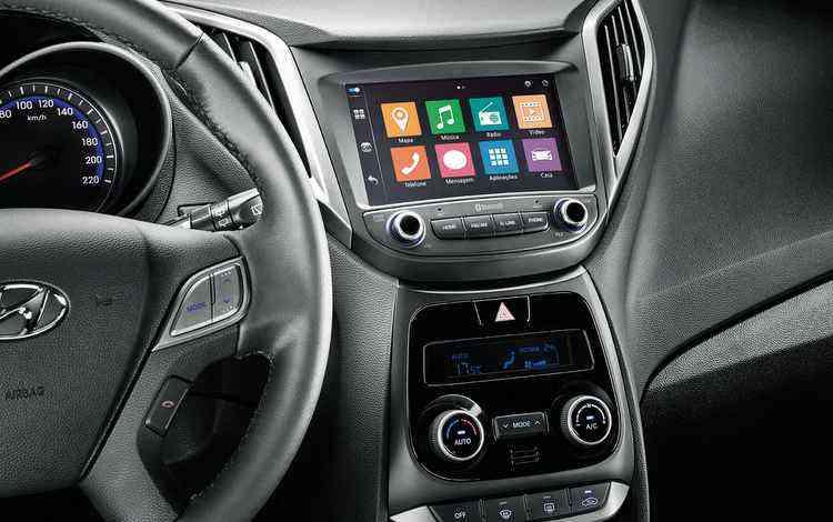 Novo Sistema blueMedia é compatível com Apple CarPlay, Google Android Auto e OnCar  - Hyundai / Divulgação