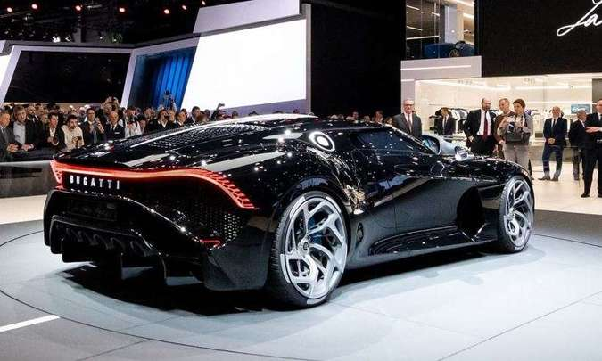 Bugatti La Voiture Noire no Salão de 2019(foto: Bugatti/Divulgação)