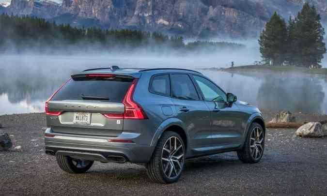 A versão Polestar é identificada também pela inscrição na traseira(foto: Volvo/Divulgação)