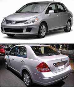 Nissan Versa - Nissan/Divulgação