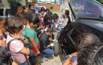 A Volkswagen oferece curso gratuito de mecânica para mulheres(foto: Julio Jacobina / DP)