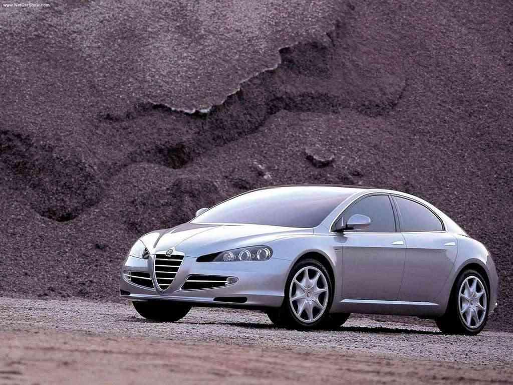 Alfa Romeo Visconti 2004 - Alfa Romeo/ Divulgação