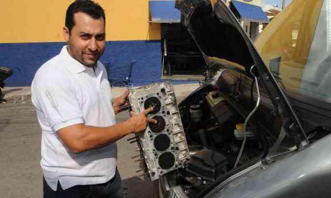Thiago Fernandes Bueno é um dos proprietários de Ducato que reclamam(foto: Cristina Horta/EM/D.A Press)