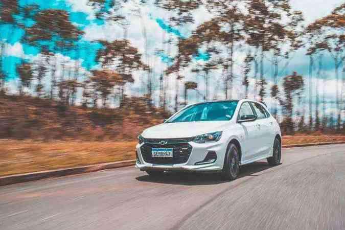Chevrolet Onix(foto: Jorge Lopes/EM/D.A Press)