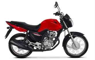 Honda permanece em primeiro lugar no total de motos emplacadas com a CG 160. Foto: Honda / Divulgação
