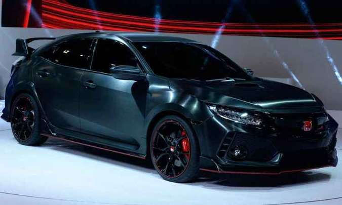 Honda Civic Type R(foto: ERIC PIERMONT/AFP)