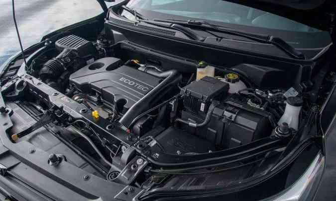 Motor 1.5 turbo desenvolve 172cv de potência e 27,8kgfm de torque(foto: Chevroletr/Divulgação)