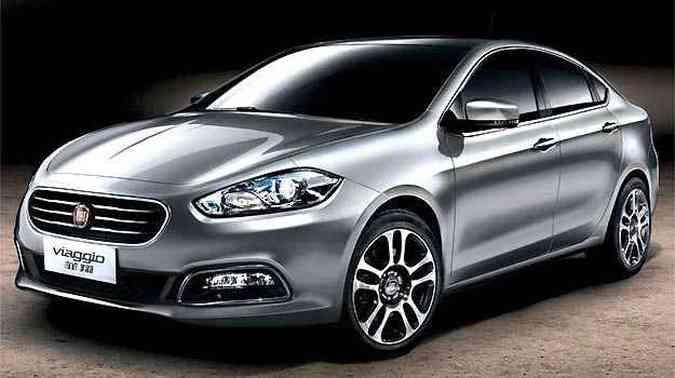 Fiat Viaggio já é comercializado na China(foto: Fiat/Divulgação)