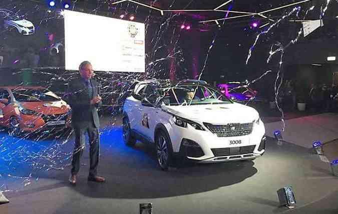 Peugeot 3008 já foi apresentado no Brasil durante o Salão de São Paulo(foto: Salao de Genebra / Divulgação)