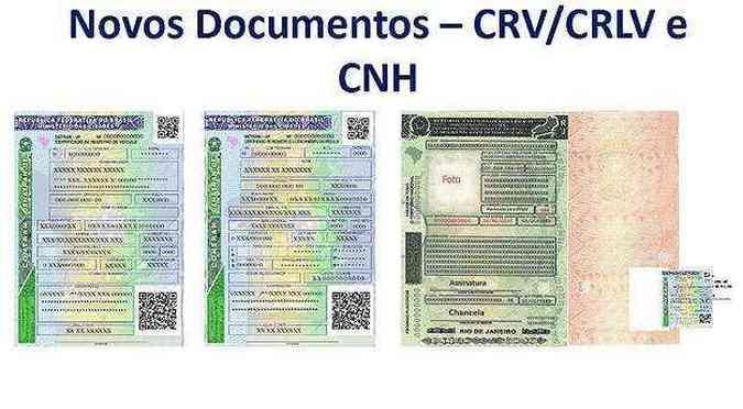 Documentos terão mais dispositivos de segurança para evitar crimes (foto: Reprodução/Agência Brasil)