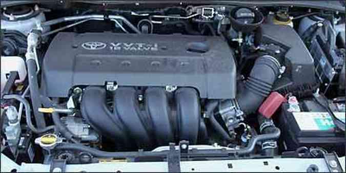 Motor 1.8 Flex tem desempenho bom em quase todas as situações(foto: Fotos: Marlos Ney Vidal/EM/D.A Press - 30/07/2009 )