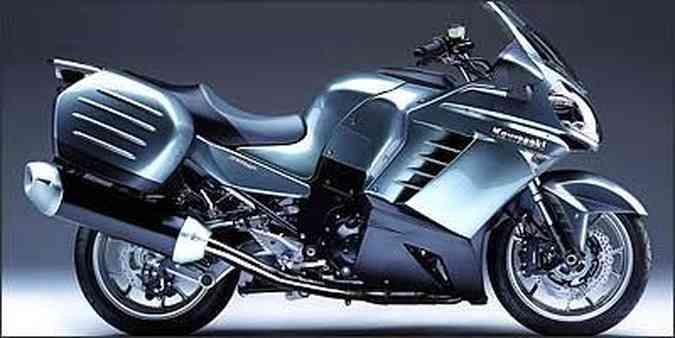O quadro monocasca abraça o motor por cima, dispensando as vigas tradicionais(foto: Fotos: Reprodução/Motoplanete.com - 4/10/06)