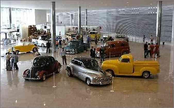 A Bienal 2010 também contará com um espaço para exibição de modelos antigos