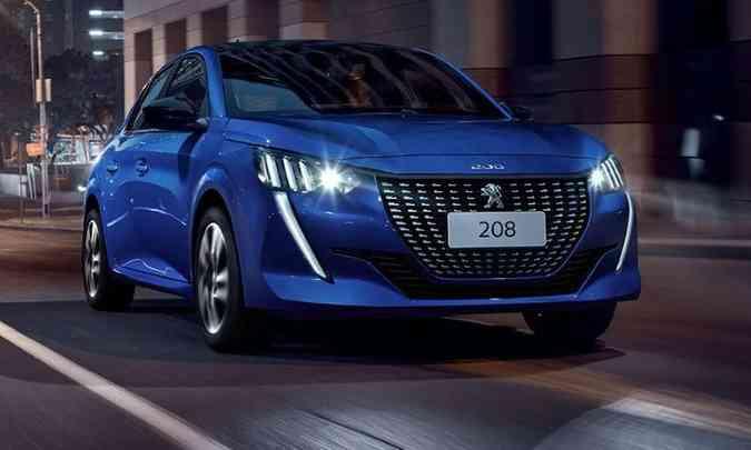 Peugeot confirma a produção do novo 208 na Argentina, com vendas no Brasil(foto: Peugeot/Divulgação)