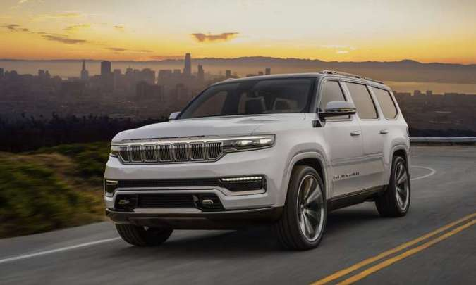 Grand Wagoneer Concept (foto: Jeep/Divulgação)