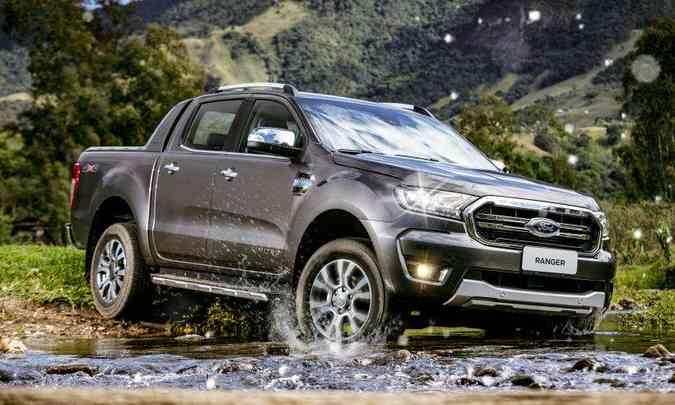 Ford Ranger Limited(foto: Ford/Divulgação)