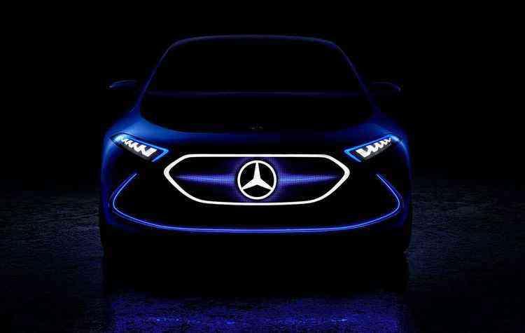 Conjunto de luzes na frente do carro chama atenção - Mercedes-Benz/Divulgação
