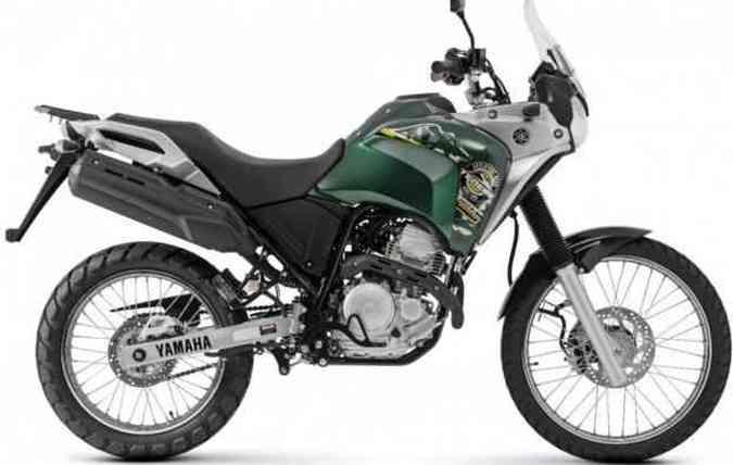 A cor metálica Verde Savage é uma das ofertadas(foto: Yamaha/Divulgacão)