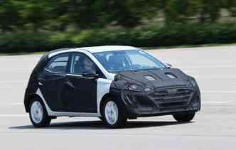 Design final do novo modelo ainda não foi apresentada. Foto: Hyundai / Divulgação