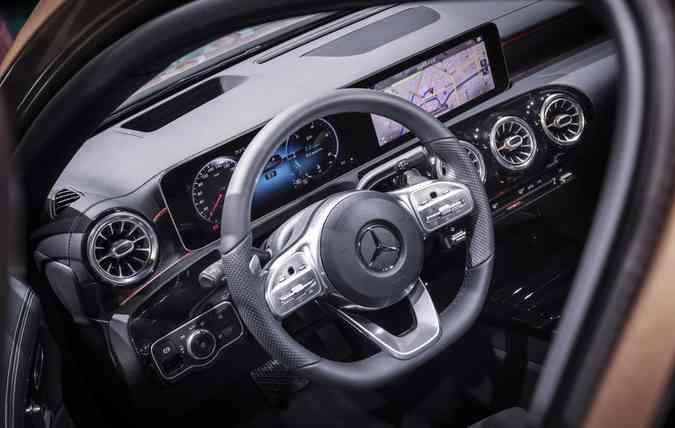 Grande destaque no modelo é a inteligência artificial (foto: Mercedes-Benz/Divulgacao)