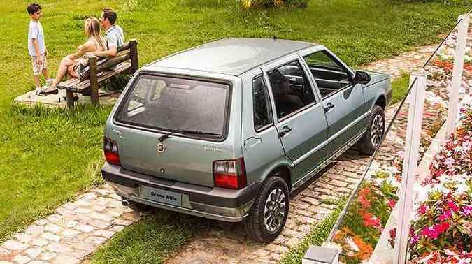 Grazie Mille terá apenas duas mil unidades fabricadas(foto: Fiat/Divulgação)