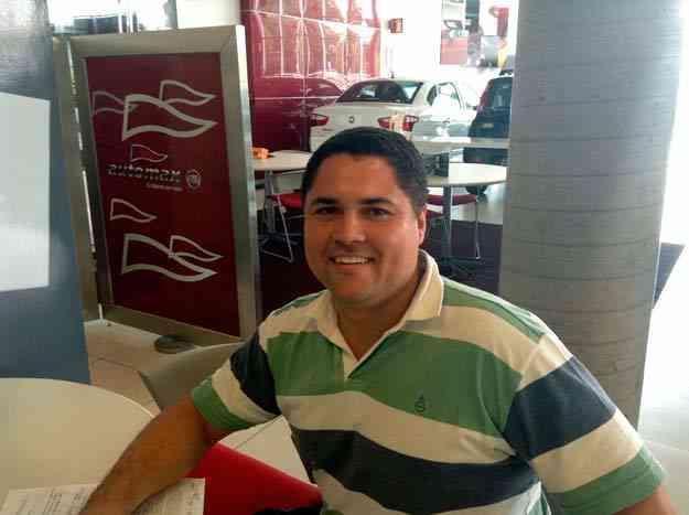 O desenhista técnico Daniel Rosa Gonçalves adquiriu um Siena 1.4 EL na Fiat Automax  - Marcus Celestino/EM/D. A Press