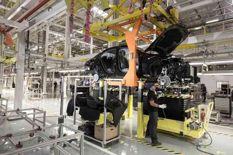 Fábrica da Mercedes-Benz  - Divulgação/ Mercedes-Benz