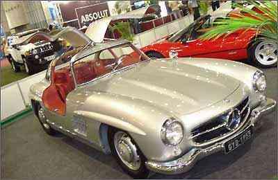 Mercedes-Benz SL foi o carro de passeio mais rápido do mundo em sua época -