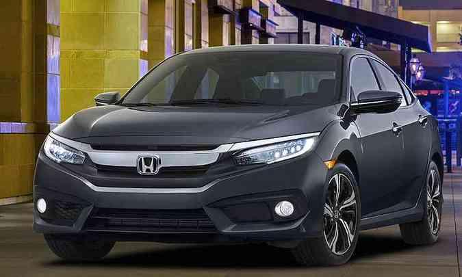 Honda Civic(foto: Honda/divulgação)